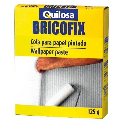 COLA PAPEL PINTADO 125 GRS BRICOFIX