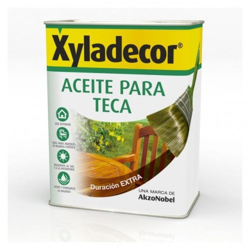 XYLADECOR ACEITE TECA INCOLORO 750 ML