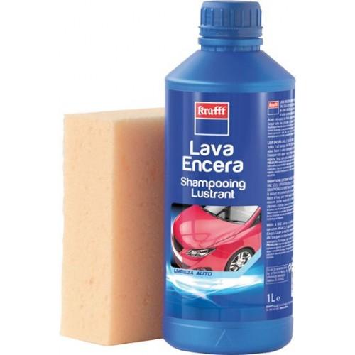 JABON LAVA-ENCERA CON ESPONJA