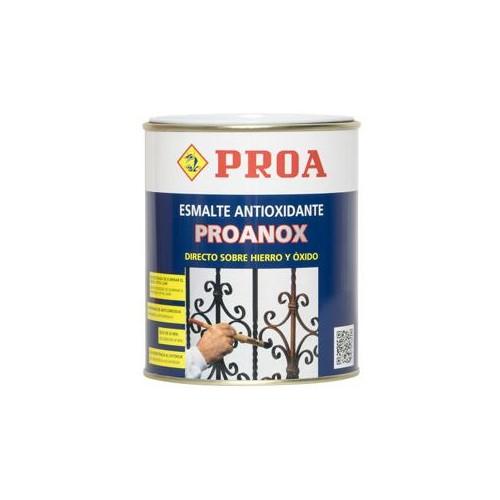 ESMALTE PROANOX NEGRO 750 ML