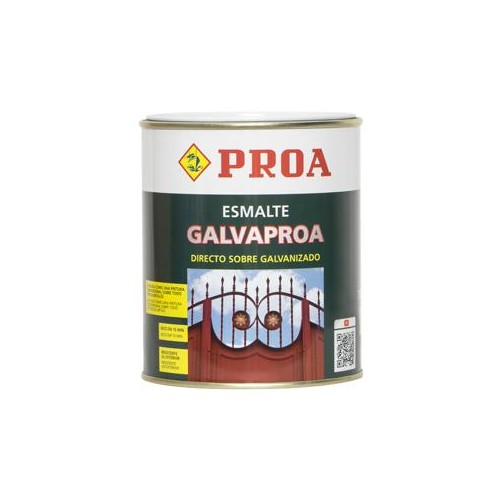 ESMALTE GALVAPROA GRIS MEDIO 750 ML