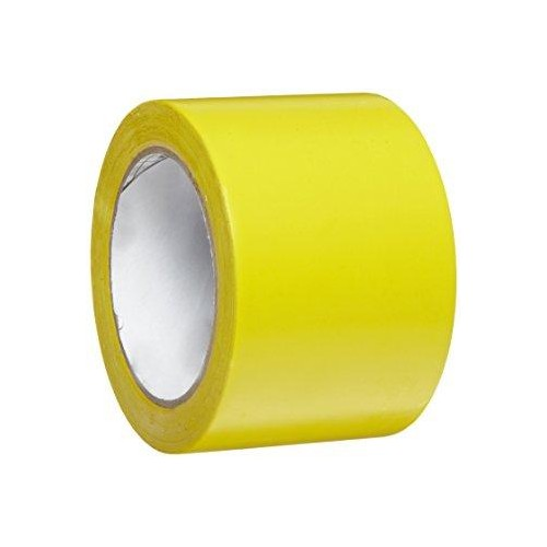 CINTA AGRICOLA PVC 10MX80MM AMARILLO
