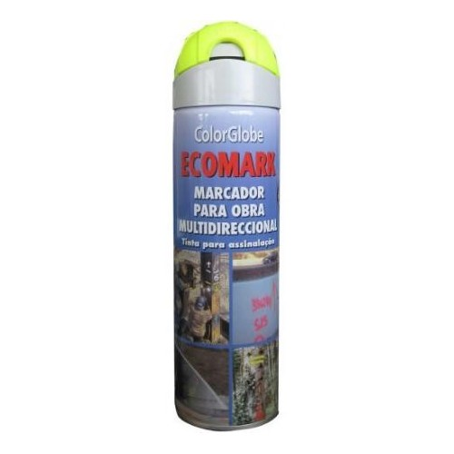 SPRAY MARCADOR ECOMARK ROJO 500ML