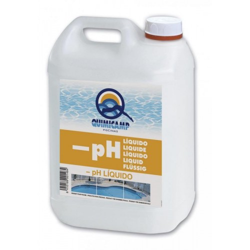 REDUCTOR PH LIQUIDO PISCINAS 6 KG
