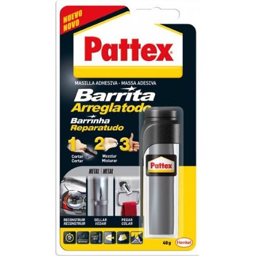 PATTEX BARRITA ARREGLATODO METAL 48GR