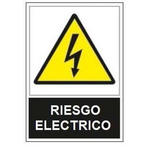 SEÑAL ADVERTENCIA RIESGO ELECTRICO