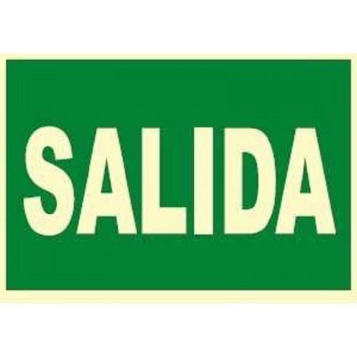SEÑAL FOTOLUMINISCENTE SALIDA