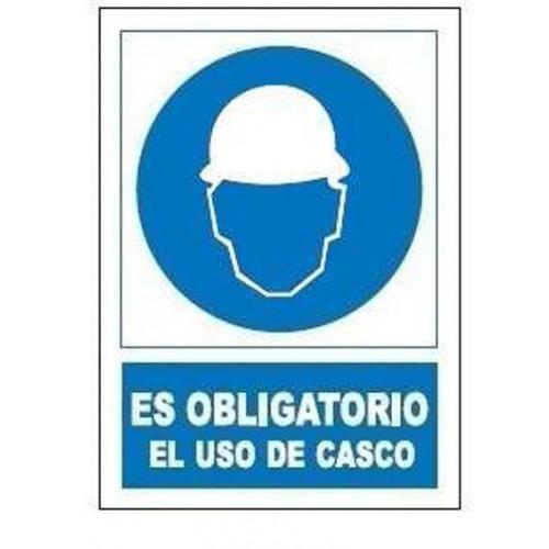 SEÑAL OBLIGACION USO DE CASCO