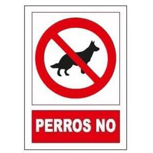 SEÑAL POHIBIDO PERROS NO