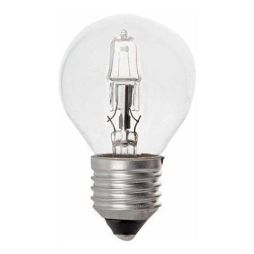 LAMPARA HALOGENA ESFERICA E27 28W(40W)