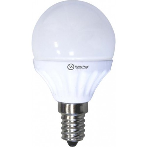 LAMPARA ESFERICA LED E14 4W 6000K