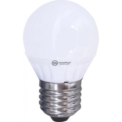 LAMPARA ESFERICA LED E27 6W 6000K