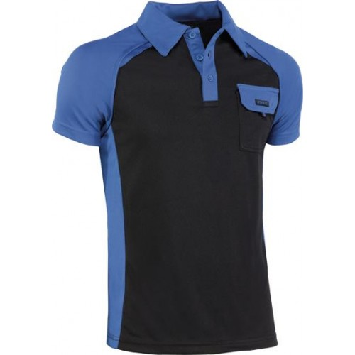 POLO TOP RANGE 994 AZUL/NEGRO T-XL