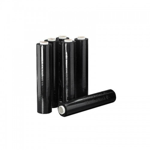 FILM EXTENSIBLE NEGRO 2.2KG 23MT