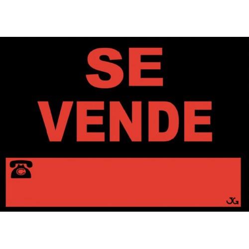 SEÑAL SE VENDE 40X30 CM