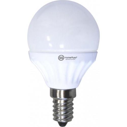 LAMPARA ESFERICA LED E14 7.5W 3000K