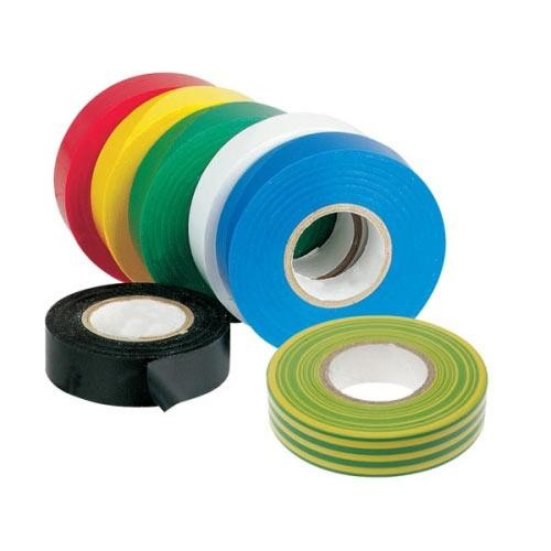 CINTA AISLANTE PVC 20MX19MM BICOLOR
