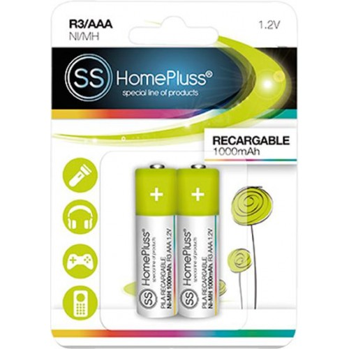 BLISTER 2 PILA RECARGABLE ECO R03 AAA
