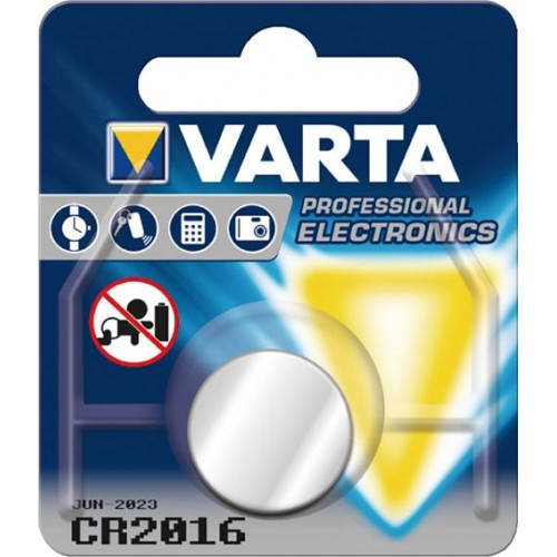 PILA BOTON LITIO CR2016 3V