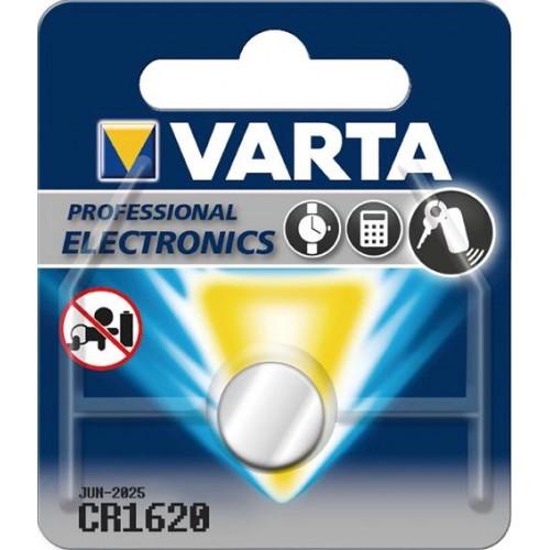 PILA BOTON LITIO CR1620 3V