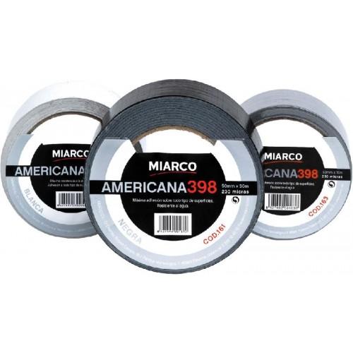 CINTA AMERICANA MIARCO 50MMX10M NEGRO