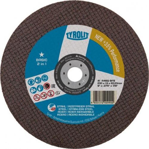DISCO CORTE BASIC 41 A46Q-BFB 230X1,9