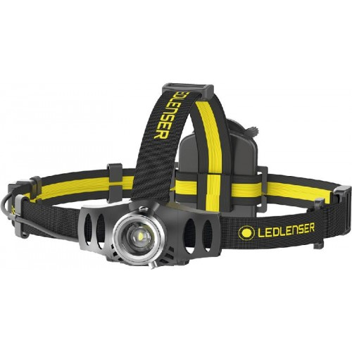 LINTERNA LED LENSER FRONTAL IH6R 200LUM