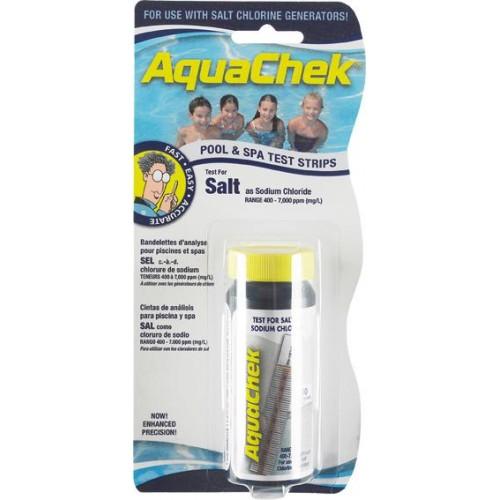 AQUACHECK WHITE SALT 10 TIRAS