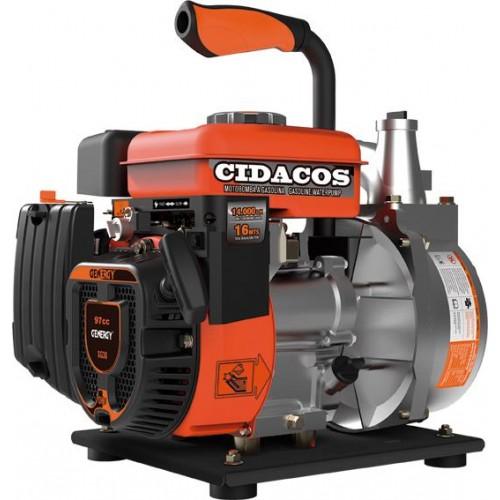 MOTOBOMBA 4T CIDACOS II 97CC 1400LT